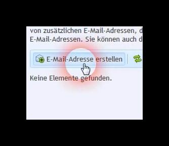 E-Mail-Adresse erstellen in Plesk