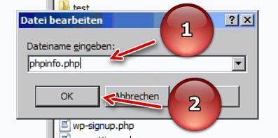 WinSCP Dateiname eingeben